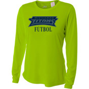 Titans - NW3002 A4 Ladies' Long Sleeve Cooling Performance Crew Shirt