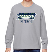 Titans - 4930B Fruit of the Loom Youth 5oz. 100% Heavy Cotton HD™ Long-Sleeve T-Shirt