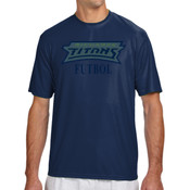 Titans - N3142 A4 Short-Sleeve Cooling Performance Crew Neck T-Shirt